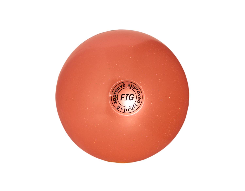 Palla Ritmica Glitter Arancio