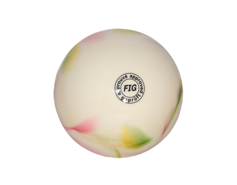 palla Ritmica Sfumata Giallo/Verde/Fuxia