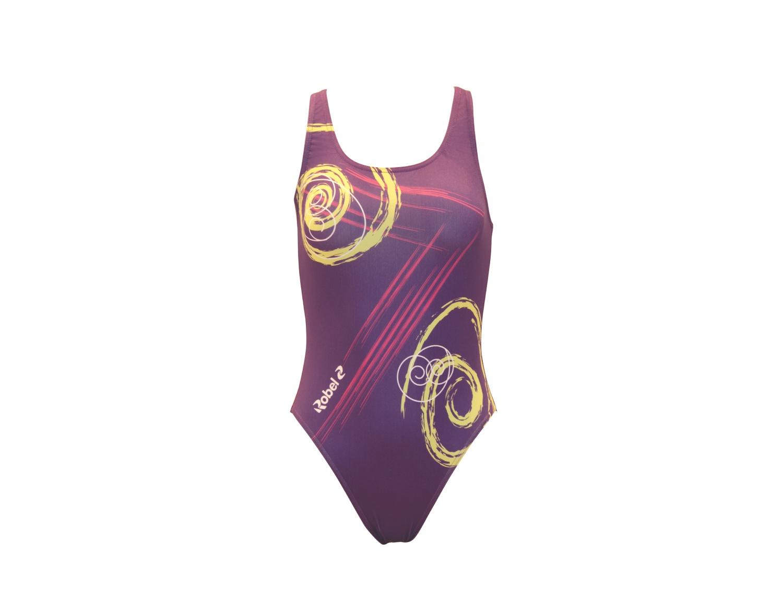 Costume piscina stampato donna Caracol