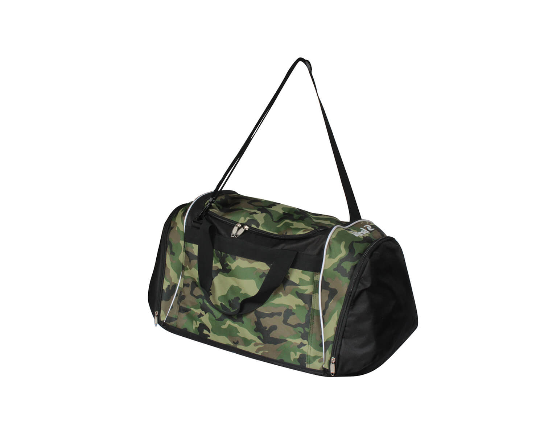 Borsa sportiva Boston Nero/Camouflage