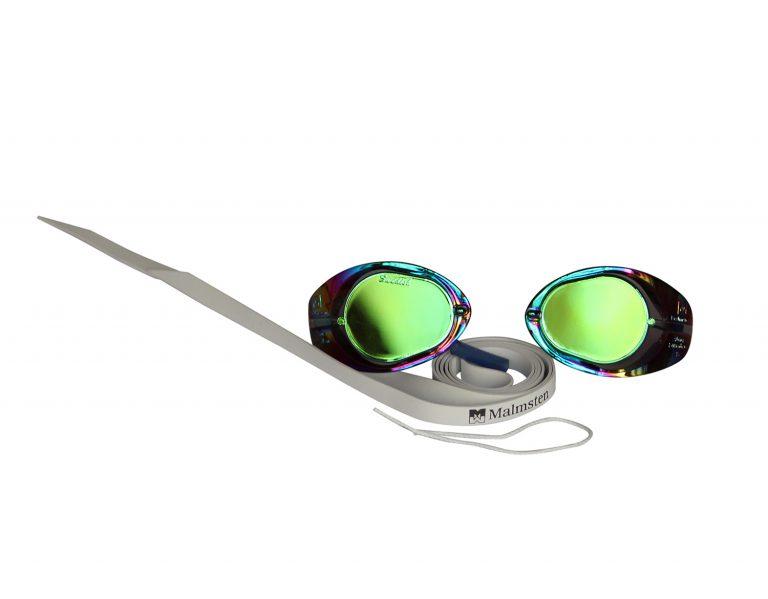 Occhialino piscina svedese specchiato 123