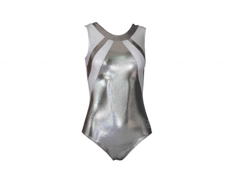 Body ginnastica artistica Aurelia Nero/Argento