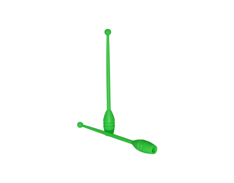Clavette Verde ginnastica ritmica