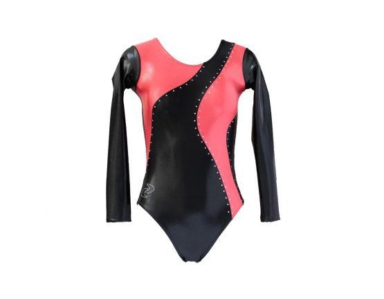 Body ginnastica artistica Delizia Nero