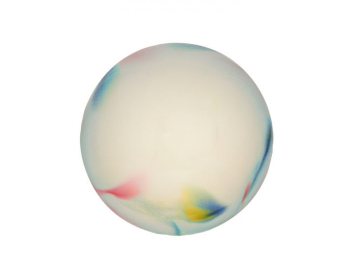 palla Ritmica Sfumata Giallo/Blu/Fuxia