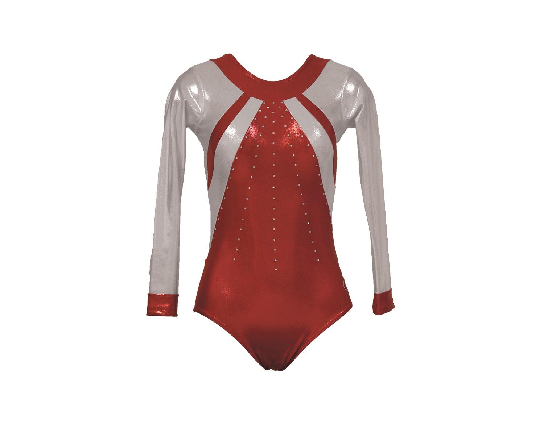 Body ginnastica artistica Annia Rosso