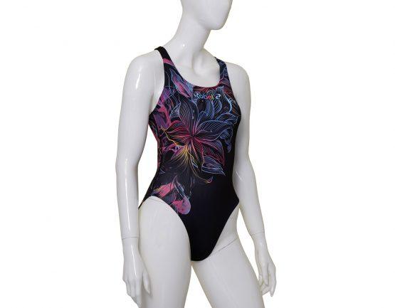 Costume piscina donna stampato Aloha