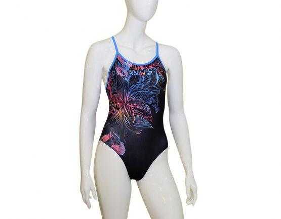 Costume piscina donna stampato Aloha RD