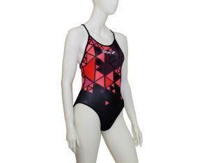 Costume piscina donna stampato Mood RD